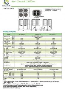 چیلر تراکمی هوا خنک SCA-40/50/60EK4D