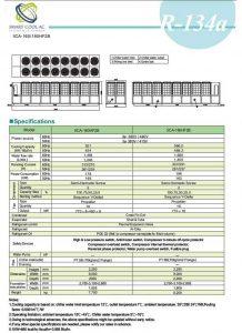 چیلر تراکمی هوا خنک مدل: SCA-160/180HF2B
