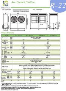 چیلر تراکمی هوا خنک مدل: SCA-5EK1D