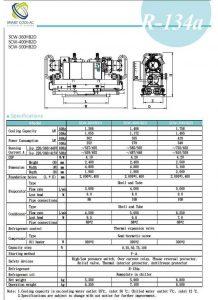 چیلر تراکمی آب خنک مدل: SCW-360/400/500HB2D