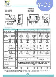 چیلر تراکمی آب خنک مدل: SCW-25/30EBK2D