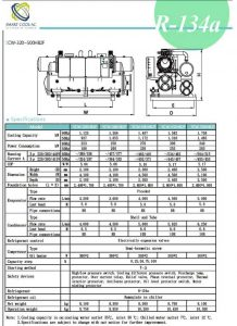چیلر تراکمی آب خنک مدل: CW-320-500HB2F