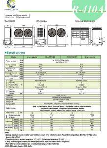 چیلر تراکمی هوا خنک مدل: SCA-15NK2A