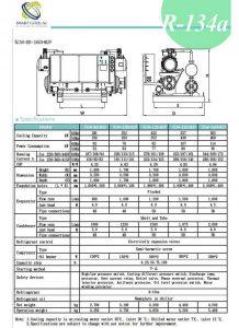 چیلر تراکمی آب خنک مدل: SCW-80~160HB2F