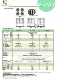 چیلر تراکمی هوا خنک مدل: SCA-40/50/60NK4B